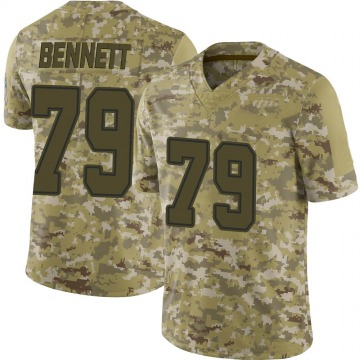 Youth Michael Bennett Dallas Cowboys Limited Camo 2018 Salute to Service Jersey