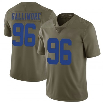 Youth Neville Gallimore Dallas Cowboys Limited Green 2017 Salute to Service Jersey